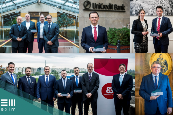 6 kategóriában díjazta pénzügyi partnereit az EXIM